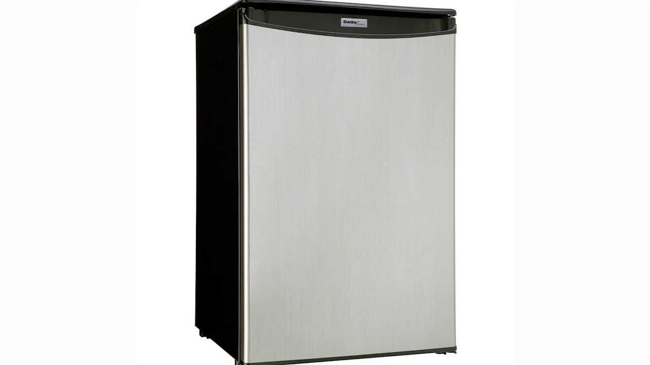 danby energy star 44 cu ft all dar125sldd compact appliance - Danby Mini Fridge