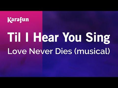 Love Never Dies ~ Love Never Diesиз YouTube · Длительность: 6 мин46 с  · Просмотры: более 160.000 · отправлено: 3-5-2011 · кем отправлено: broadwayizmylife