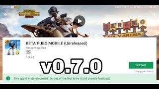 PUBG v 0.7.0 Beta   New Version   New Features   Hindi