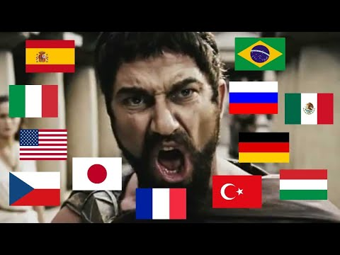 """""""THIS IS SPARTA"""" In Different Languages"""