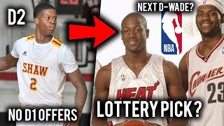 """THE NEXT Dwyane Wade"" Could Go From Division 2 to NBA Lottery Pick!"