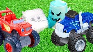 Мультики про машинки. Вспыш и костюмы на Хэллоуин. Видео для детей