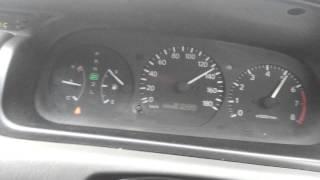 Toyota Camry Gracia Разгон до максималки