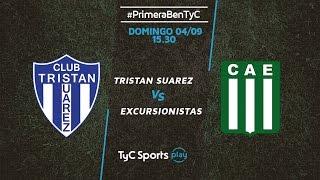 Tristan Suarez vs Excursionistas full match