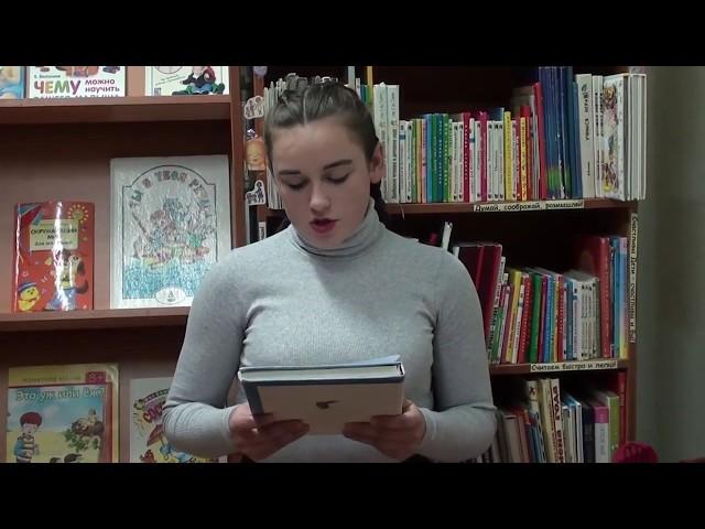 Изображение предпросмотра прочтения – АлесяЧеркасова читает произведение «Буханка хлеба» Т.Н.Ломбиной