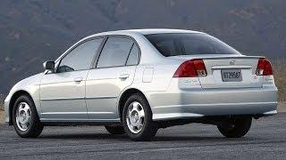 #1088. Honda Civic Hybrid 2004 (супер видео)