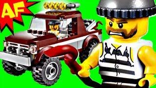 lego city police pursuit 4437 stop motion build review