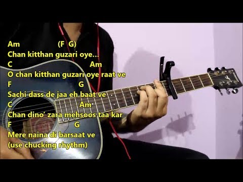 Chan Kitthan - Ayushmann Khuranna | Guitar Chords Lesson With Intro