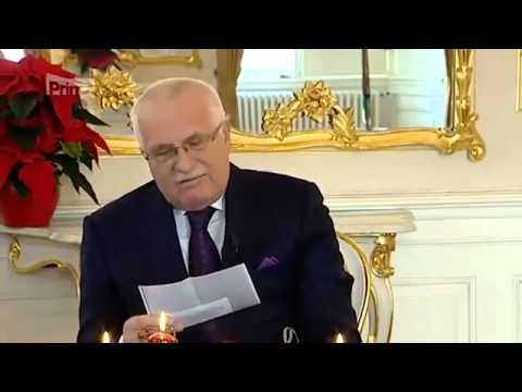 Václav Klaus o strefie euro i kryzysie finansowym