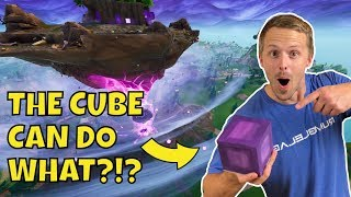 Fortnite Cube 2.0 In Real Life | It Moves!