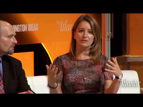 Robert Costa, Glenn Thrush and Katy Tur / Washington Ideas 2017