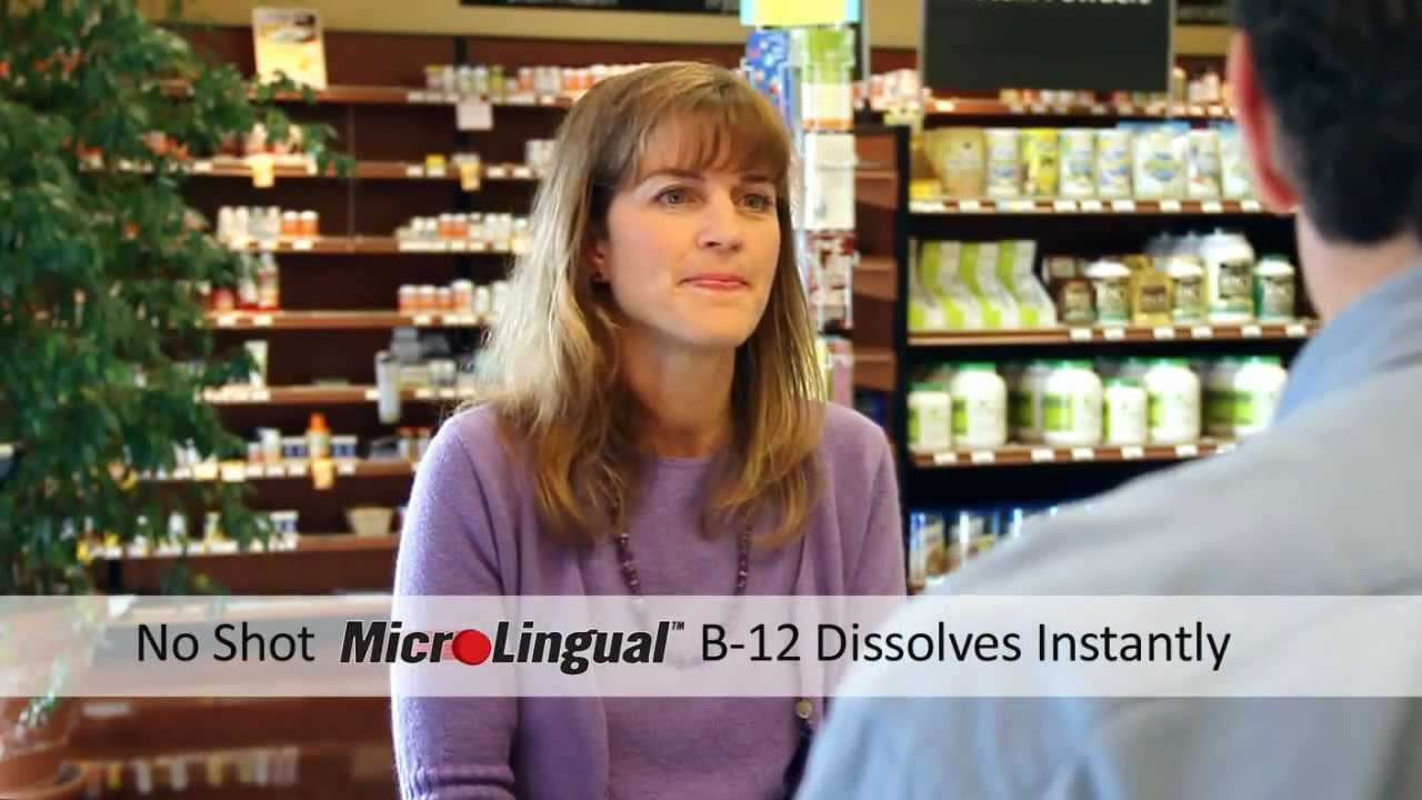 Superior Source MicroLingual Vitamins - B12 Commercial # 2