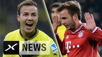 Rückkehr zum BVB: Mario Götze bereut Bayern-Wechsel | Vom FC Bayern München zu Borussia Dortmund