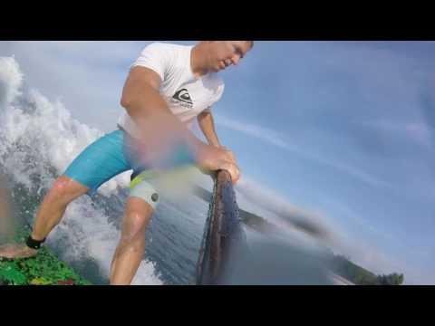 North Shore Oahu Surfing- Jan 15, 2017....