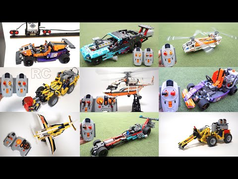 LEGO Technic 2016 All model RC motorized version (first half 2016) by 뿡대디