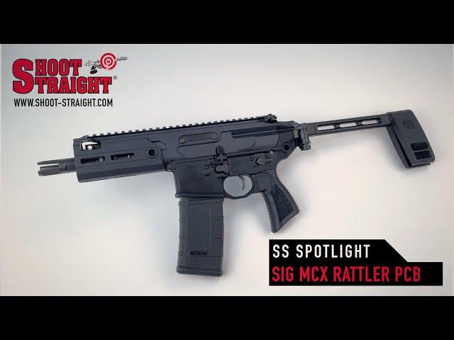 SIG SAUER MCX Rattler PCB - Shoot Straight Spotlight