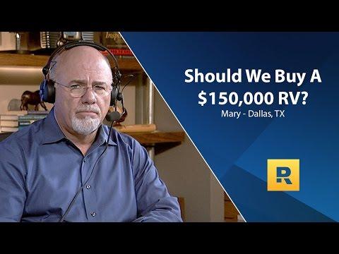 Should We Buy a $150,000 RV?