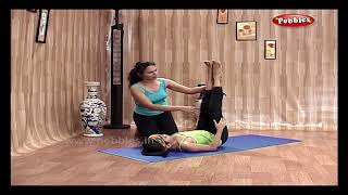 Sarvangasan, Halasan in Hindi | Yoga in Hindi | योग आसन | Yoga For Children | Yoga Step By Step
