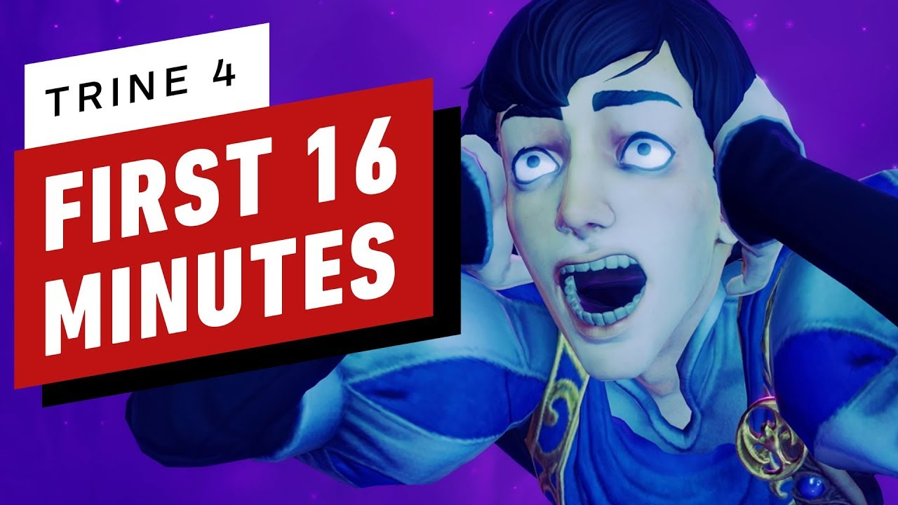 The First 16 Minutes of Trine 4: The Nightmare Prince