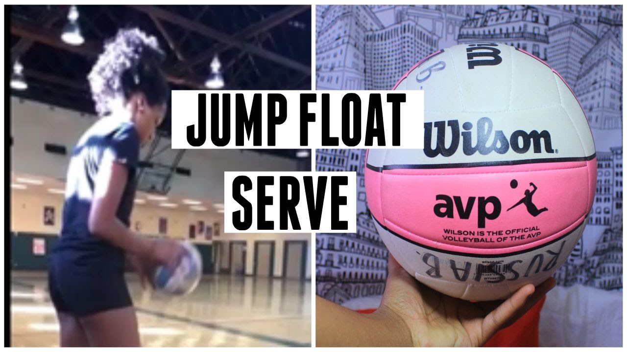 Volleyball float serve