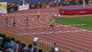 400м с/б Мужчины - финал, Чемпионат России 2014