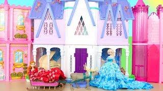 Frozen 2 Elsa Anna Palace Morning - Hair Braiding Machine Istana Matin Palast Palácio صباح