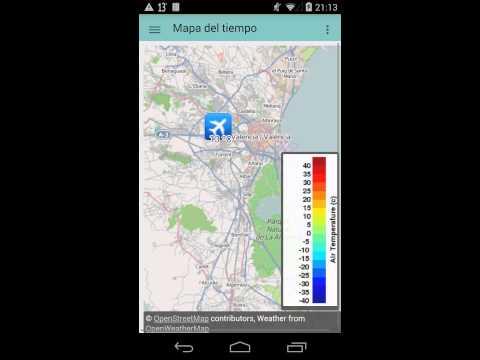 My Weather Indicator con Widgets