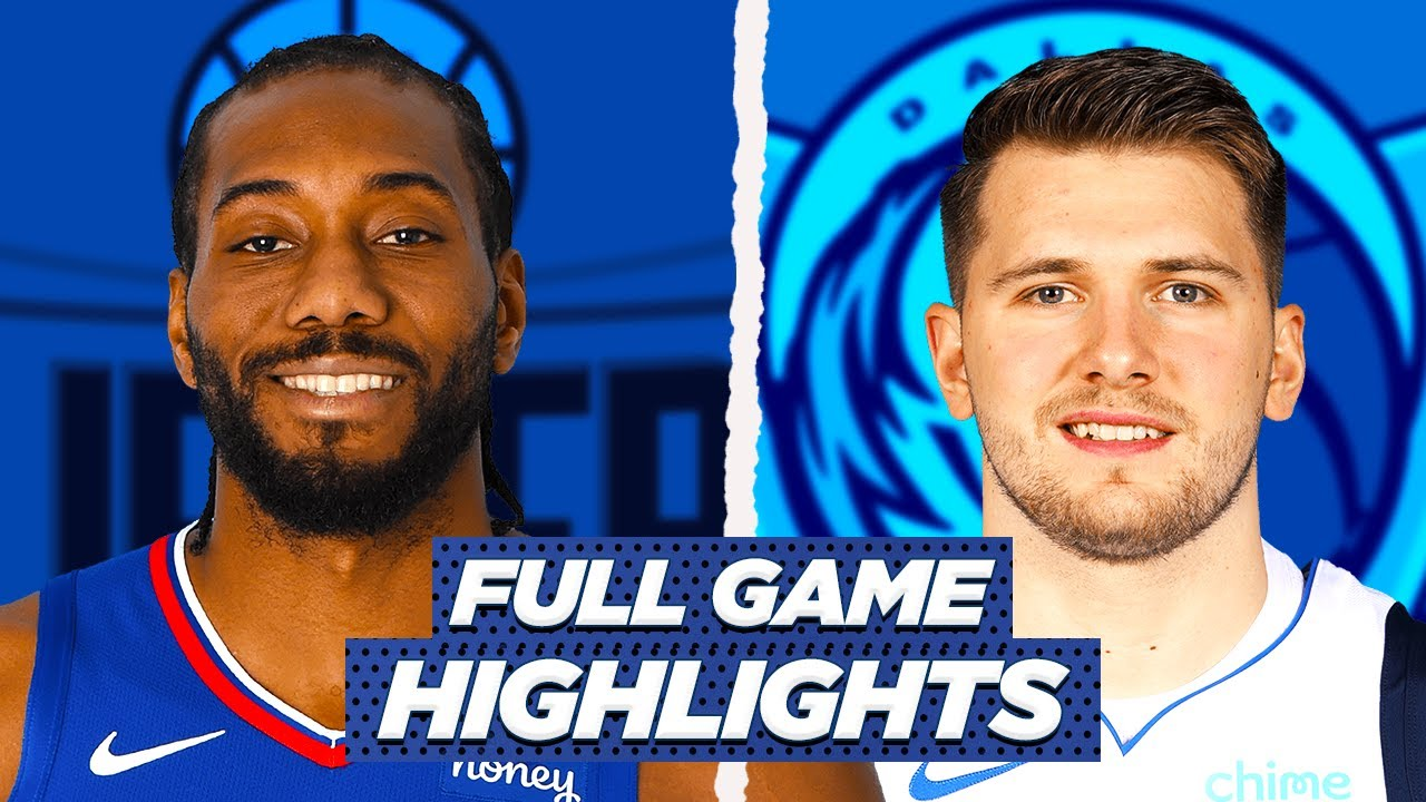 Clippers Mavs Game 6 Highlights