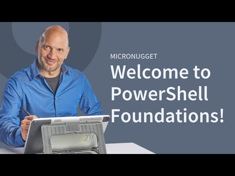 Welcome to PowerShell 4 Foundations!