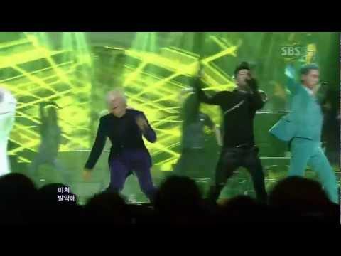 BIGBANG [FANTASTIC BABY] @SBS Inkigayo Popular Song 20120401