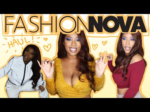 FASHION NOVA TRY ON: MY OUTFIT LIGHTS UP!
