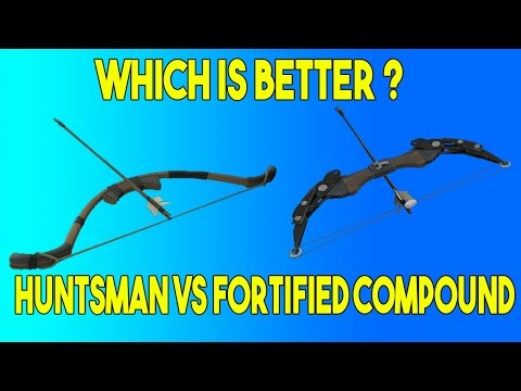 Team Fortress 2 - Huntsman vs Fortified Compound, which is better ?