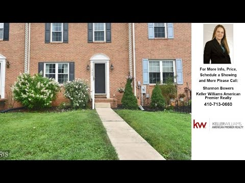 1243 ATHENS COURT, BEL AIR, MD Presented by Shannon Bowers.