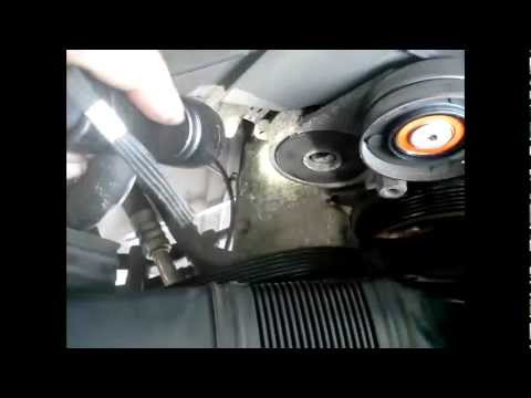 how to change altenator camry v6 2003