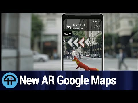 AR in Google Maps Will Get You There
