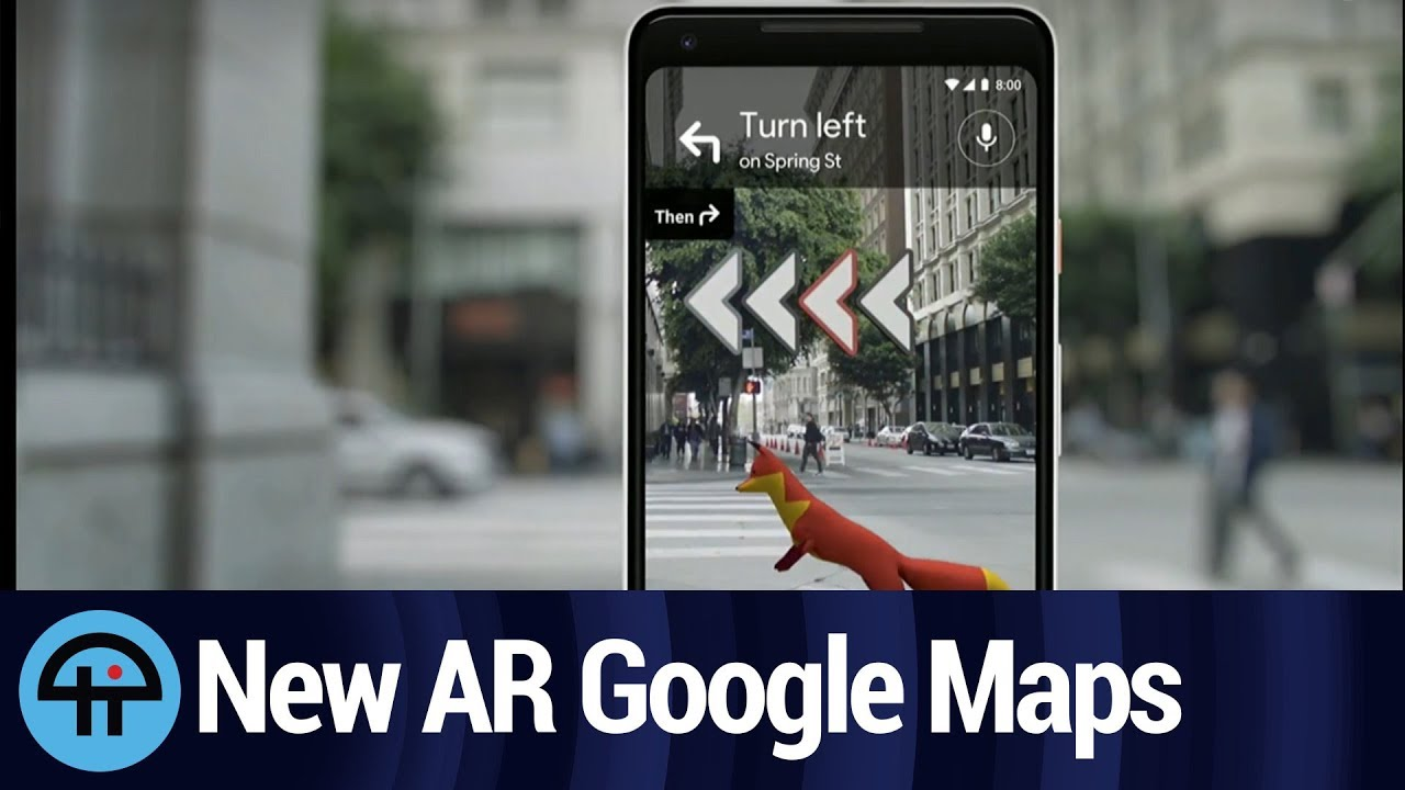 google térkép 2020 AR in Google Maps Will Get You There (With Commentary)   YouTube