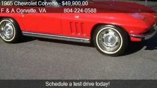 1965 Chevrolet Corvette 327/365HP 4 SPEED - for sale in Colo