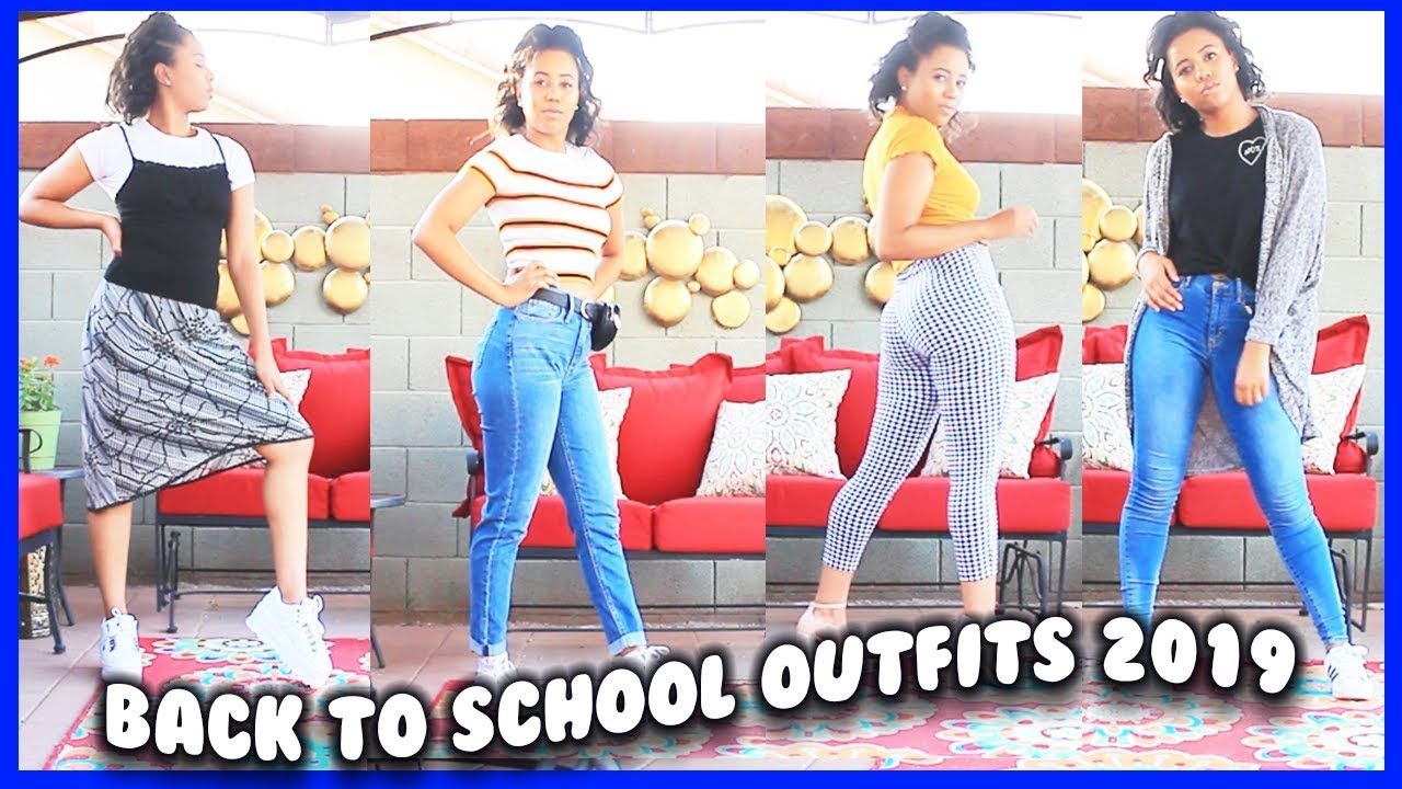 Back to School Outfit Ideas 2019!
