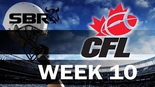 Week 10 Canadian Football Picks & Predictions