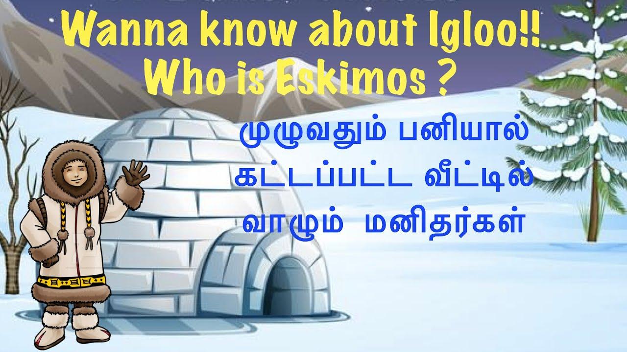 Emergence and culture impact of the Igloo | Who is ESKIMOS ? | Igloo