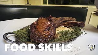 This Tomahawk Steak Is a Primal Meat Fest | Food Skills