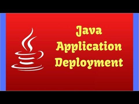 Java Deployment: Creation and Execution of Java JAR File