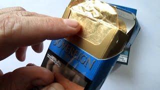 Золото из сигарет! (Sovereign GOLD))