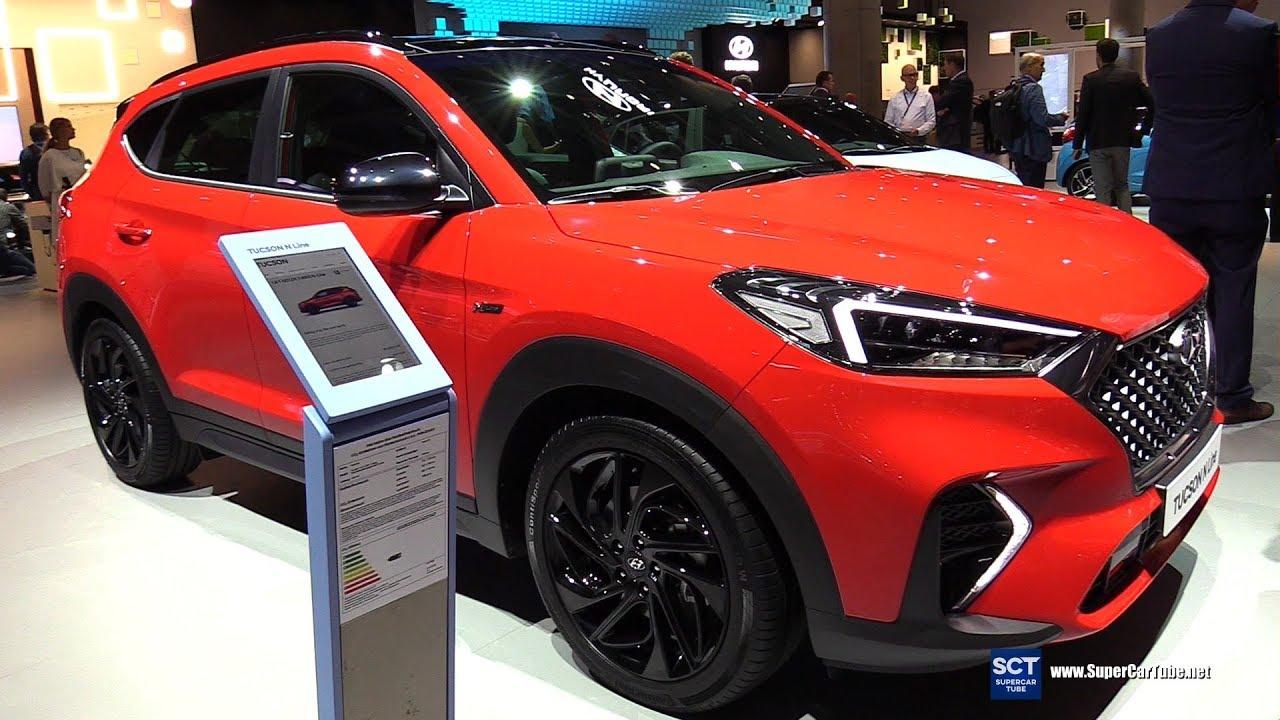 2020 hyundai tucson n line - exterior interior walkaround