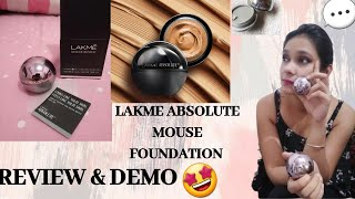 Lakme Absolute Mousse Foundation Review amp Demo ROSE FAIR GOLDEN MEDIUM