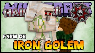 Farm de Iron Golem - Hardcore 2 #63 (Minecraft 1.8)