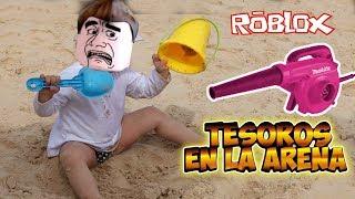 Buscando TESOROS en ROBLOX Treasure HUNT Mejores momentos | funny moments roblox | Clau y Edu
