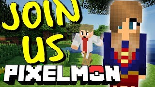 Catching Pokemon in Minecraft With Subscribers 🔴 Pixelmon Minecraft PC Gameplay Live!