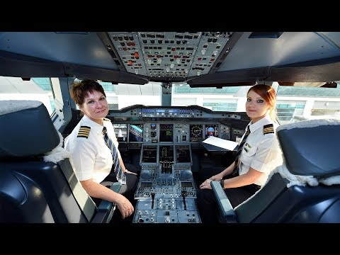 Emirates' Superwomen Airbus A380 Flight to San Francisco | International Women's Day 2018