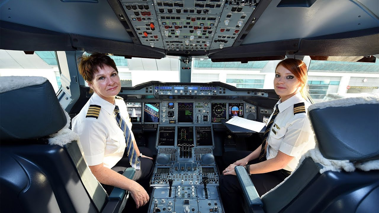 Emirates Superwomen Airbus A380 Flight To San Francisco